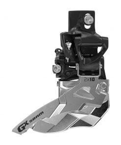 Přesmykač SRAM GX 2x10 horní přímá montáž 38/36z